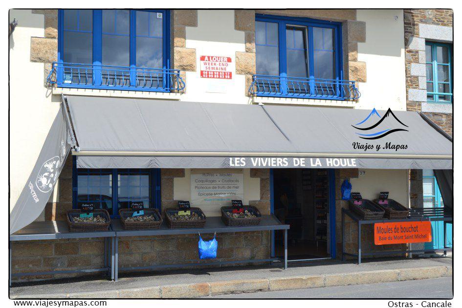 ostras en Cancale