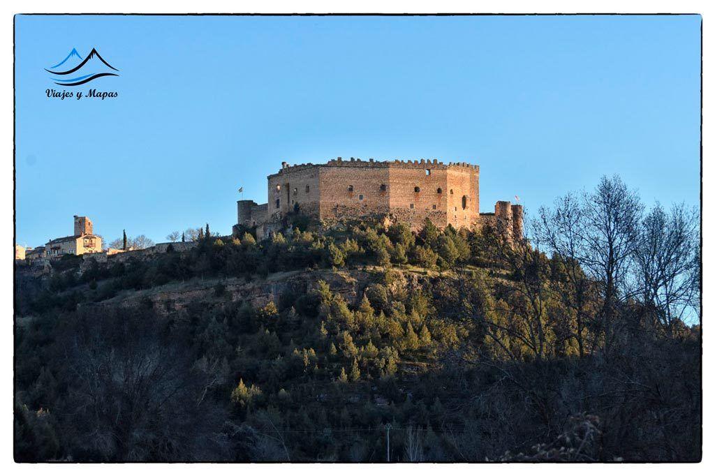 Vistas-del-castillo de pedraza
